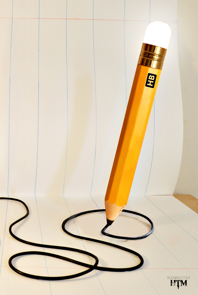 The Pencil Lamp
